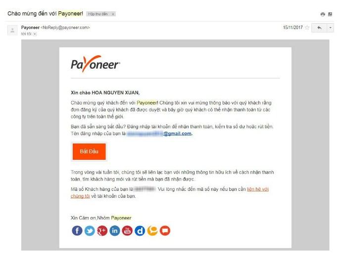 dang ky payoneer 13 - Đăng ký ví điện tử Payoneer nhận 25$ khuyến mãi ngay lập tức