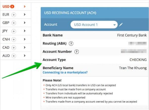 dang ky payoneer 21 - Đăng ký ví điện tử Payoneer nhận 25$ khuyến mãi ngay lập tức