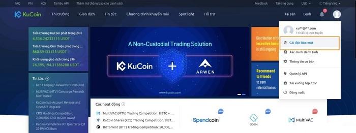 Kucoin là gì? Hướng dẫn đăng ký và trade coin trên sàn Kucoin 9