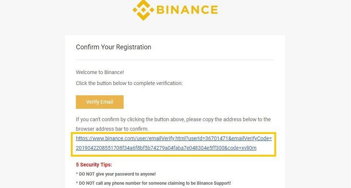Đăng ký Binance và cách xác minh tài khoản Binance 2