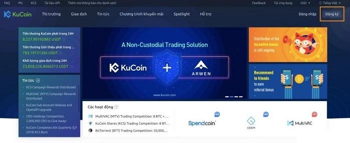 Kucoin là gì? Hướng dẫn đăng ký và trade coin trên sàn Kucoin 2