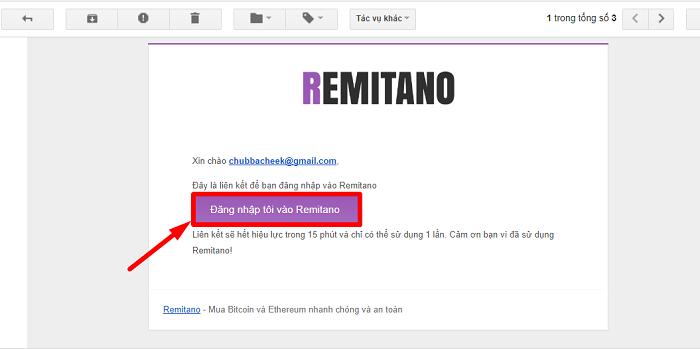 dang ky tai khoan remitano 2 - Hướng dẫn cách đăng ký và mua bán coin trên sàn Remitano