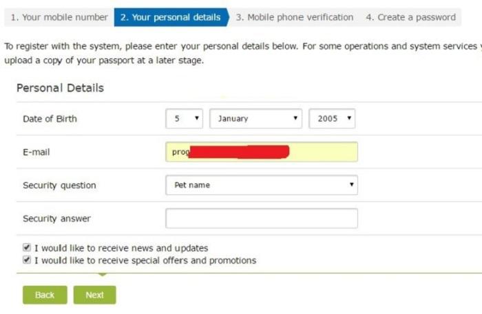 Hướng dẫn đăng ký, xác minh, tạo ví điện tử WebMoney 3