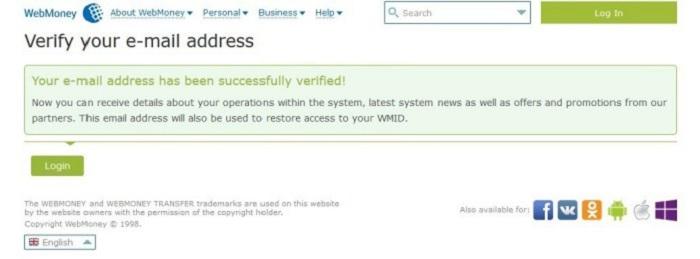 Hướng dẫn đăng ký, xác minh, tạo ví điện tử WebMoney 5