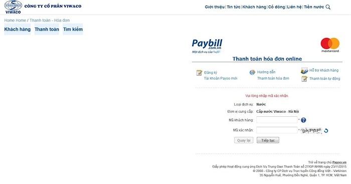 dong tien nuoc online 2 - Có những hình thức thanh toán hóa đơn tiền nước online nào?