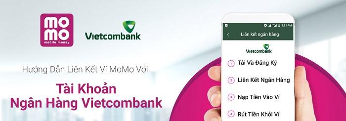 lien ket momo voi vietcombank 0 - Liên kết Momo với Vietcombank nhanh nhất bằng cách nào?