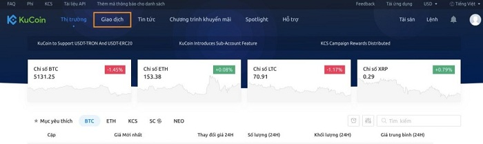 Kucoin là gì? Hướng dẫn đăng ký và trade coin trên sàn Kucoin 15