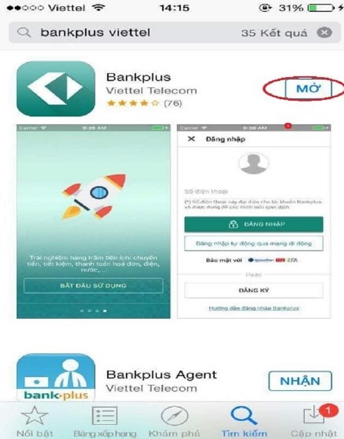 Hướng dẫn cài đặt tài khoản Bankplus Viettel và sử dụng các ứng dụng phổ biến nhất 1