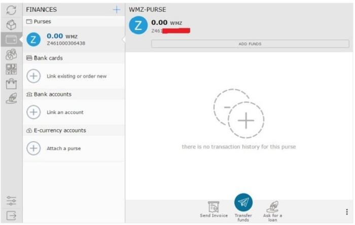 Hướng dẫn đăng ký, xác minh, tạo ví điện tử WebMoney 6