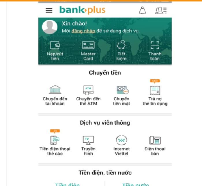 Hướng dẫn cài đặt tài khoản Bankplus Viettel và sử dụng các ứng dụng phổ biến nhất 2