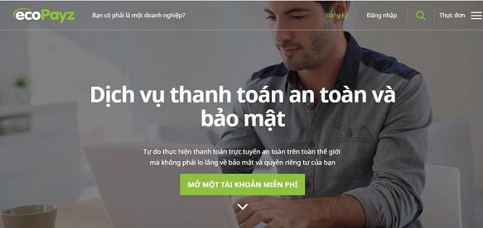 vi dien tu ecopayz 2 - eCopayz – Ngân hàng trực tuyến hoàn hảo cho người chơi casino online
