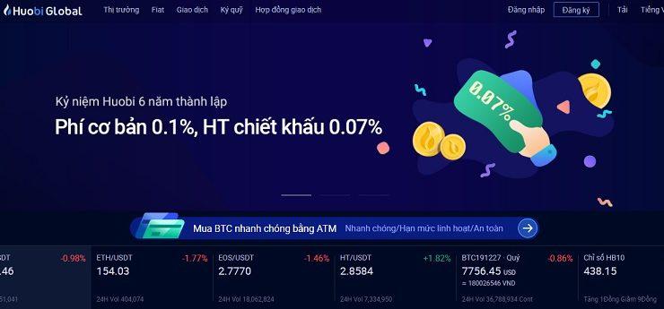 Huobi OTC – sàn giao dịch tiền điện tử lớn nhất Trung Quốc và Đông Nam Á 1