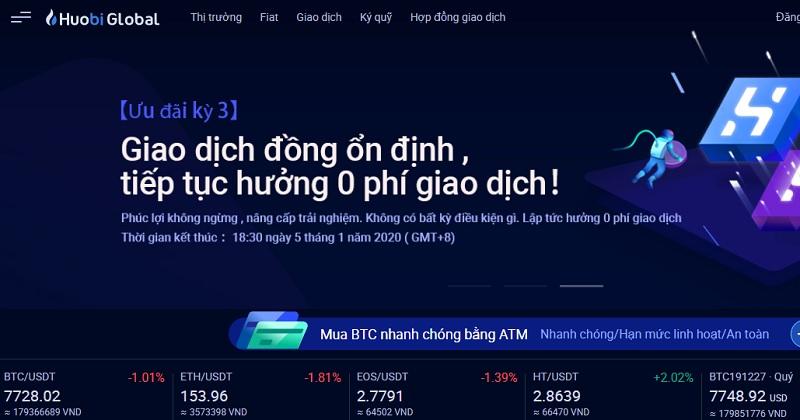 Huobi OTC – sàn giao dịch tiền điện tử lớn nhất Trung Quốc và Đông Nam Á 2