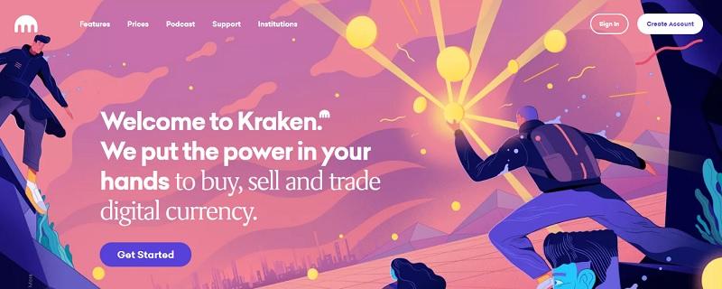 Kraken – sàn giao dịch tiền điện tử an toàn hàng đầu hiện nay 1
