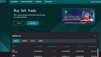 Poloniex – sàn giao dịch tiền ảo phổ biến nhất toàn cầu 1