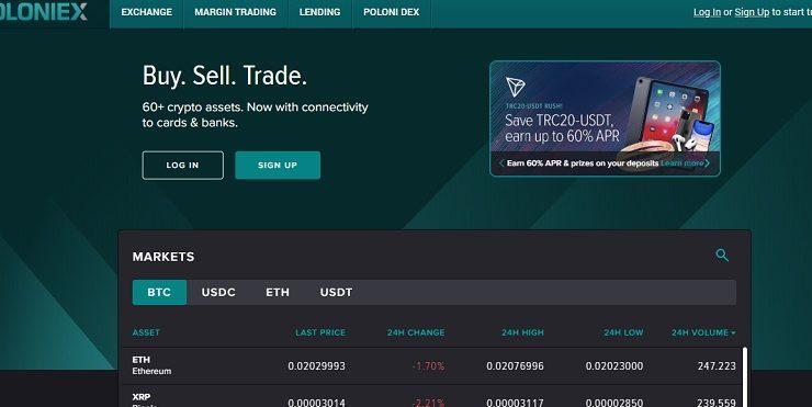 poloniex 1 740x371 - Poloniex – sàn giao dịch tiền ảo phổ biến nhất toàn cầu
