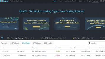 Bilaxy – sàn giao dịch tiền điện tử có tốc độ niêm yết coin nhanh chóng 34