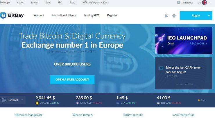 Bitbay- sàn giao dịch tiền điện tử uy tín tại Châu Âu 1