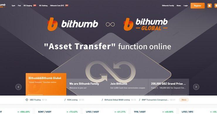 Bithumb Global – sàn giao dịch tiền điện tử số 1 tại Hàn Quốc 1