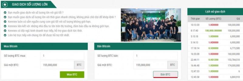 mua ban tien dien tu kenniex - Kenniex- sàn giao dịch tiền điện tử trực triếp đầu tiên tại Việt Nam