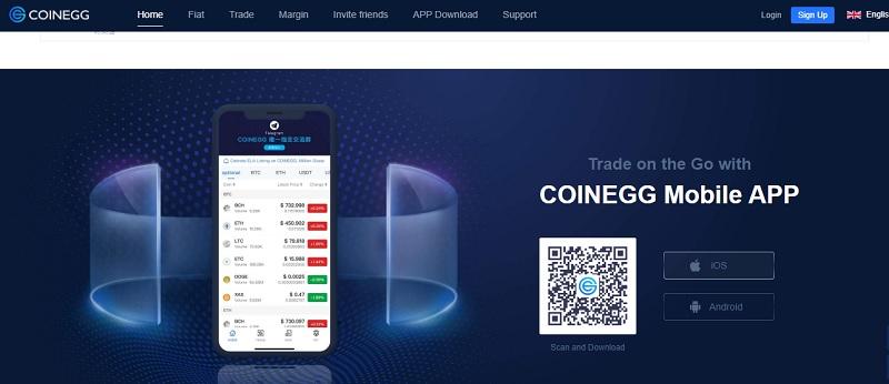 CoinEgg - sàn giao dịch điện tử đáng để người dùng tin cậy hiện nay 2
