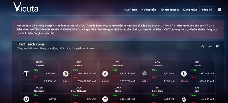 san giao dich vicuta - Vicuta – sàn giao dịch tiền điện tử uy tín tại Việt Nam hiện nay