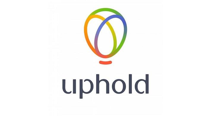 Giao diện của sàn Uphold