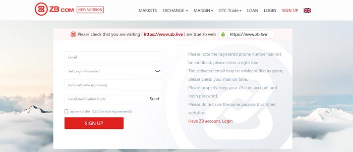Việc đăng ký sàn ZB.COM không trải qua quá nhiều công đoạn vì vậy khiến người dùng dễ dàng đăng ký