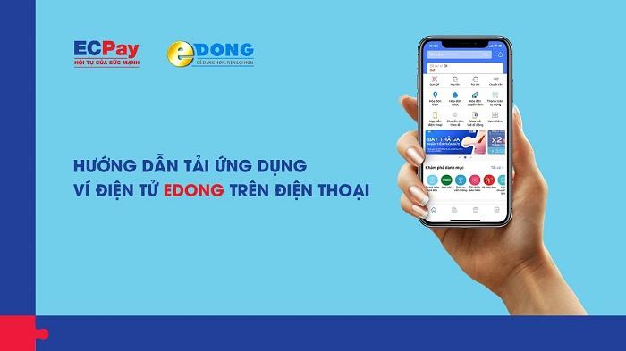 Nhiều tiện ích ở ví điện tử eDong
