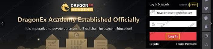 Đăng ký sàn giao dịch tiền điện tử Dragonex