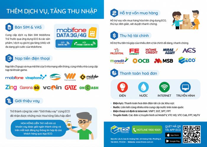 tien ich cua vi dien tu eco - Hướng dẫn đăng ký ví điện tử Eco từ A đến Z