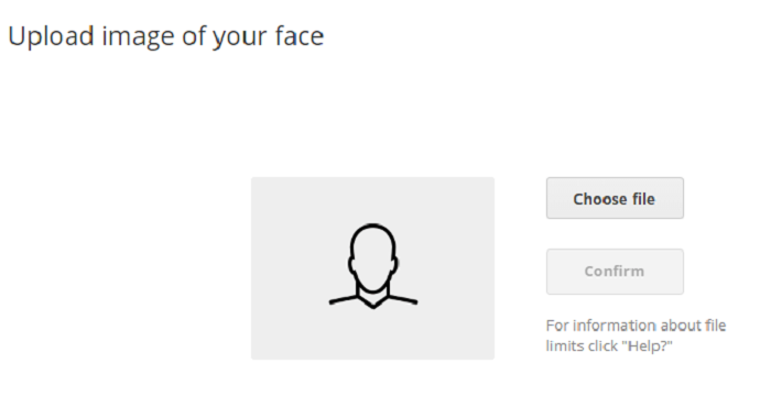 Nhận dạng khuôn mặt ở Uphold